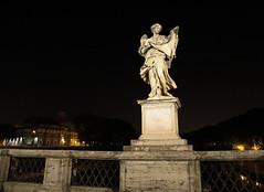 Angel 2 (hxsaint08) Tags: angel statue rock historic rome italy vatican night handheld canon5dmarkiv canon canon5dmk4