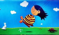 balanço (BENET - BNT) Tags: graffiti infantil escola spray bnt benet art arte custom work paint pintura