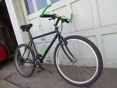 repainting my mountain bike (electrofreeze) Tags: mongoose mountain bike bicycle repainting project makeover switchback