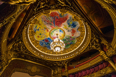 Chagall Ceiling [Explored 10.10.2016] (Enrique EKOGA) Tags: chagall ceiling gold light architechture colours colorful uwa ultrawideangle opera operagarnier nikon d800e tokina travel paris building garnier art fineart explore