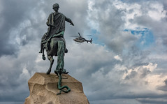 Peter the Great (Jorden Esser) Tags: peterthegreat helicopter statue sliders sunday fun