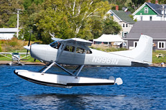 Private Cessna 180J Skywagon N9961N (jbp274) Tags: 52b greenville greenvilleseaplaneflyin flyin airplanes seaplane floatplane lake water mooseheadlake cessna c180 skywagon
