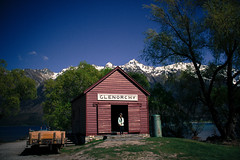 That Glenorchy Shed (Enhanced Interrogation) Tags: glenorchy queenstown otago mountain new zealand david lynch