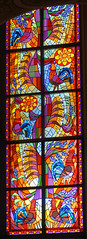 Witra (1) - Nowogrd (jacekbia) Tags: polska poland nowogrd koci church witra stainedglass wntrze indoor religia religion okno window kolory colors canon 1100d m42 135mm revuenon panorama