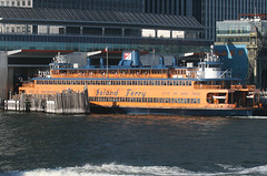 JOHN F KENNEDY - STATEN ISLAND FERRY - iin Manhattan, New York, USA. August, 2016 (Tom Turner - SeaTeamImages / AirTeamImages) Tags: ferry passengerferry carferry statenislandferry manhattan dock docked rushhour commuterferry dot deptoftransportation departmentoftransportation spot spotting tomturner bay marine maritime pony port harbor harbour transport transportation newyork nyc bigapple usa unitedstates cityofnewyork jfk johnfkennedy kennedy kennedyclass boat ferryterminal whitehall