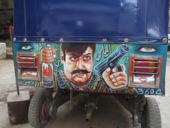 Rickshaw Painting (Raees Mughal) Tags: raees raeesmughal peshawar pakistan ricksha transport popular painting