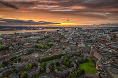 Scouse Sunset (Rob Pitt) Tags: liverpool skyline tower tours anglican cathedral merseyside sunset light tokina 1116 750d outdoor