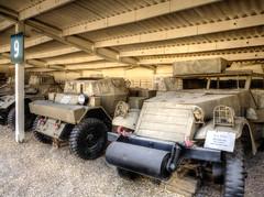 armored cars (maskirovka77) Tags: israeldefenseforces idf museum idfmuseum tanks m48 outdoors hdr armoredcar artillery antiaircraft armoredpersonnelcarrier bridgingequipment