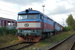 749-051 at Ceska Trebova depot (Karel1999 Over a Million views ,many thanks) Tags: vlak zug locomotives trains diesels ceska trebova