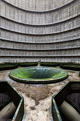 _O7A8953 (AntonyCASAFilms) Tags: urbex ue abandoned derelict cooling tower power station belgium green moss concrete