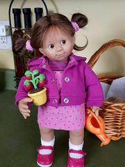 Rosemarie Mller Wichtel Mona (Toy Zoo) Tags: rosemariemller wichtel mona schildkrot dolls toys