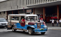 HL8A3932 (deepchi1) Tags: manilla phillippines asia pacific islands urban city jeepneys taxis jeeps traffic