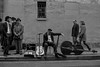 En attente..... (dprezat) Tags: stephenharrison renémiller paris lemarais musicien contrebasse rue street people bw nb blackwhite noiretblanc monochrome sonyalpha700