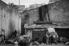 Fuck that (amoguan) Tags: maroco casablanca poor neighborhood black blackandwhite photography suburb trip travel