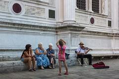 Venetian scene (Ralph Rozema) Tags: italy ralphrozemaphotography venice venezia veneto sanpolo violinist