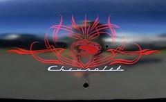 1954 chevrolet pinstripe (bballchico) Tags: 1954 chevrolet belair goodguys goodguysspokane carshow 50s pinstripe