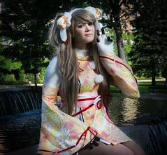Kotori-3 (YGKphoto) Tags: anime convention cosplay costume kotori lovelive metacon minneapolis minnesota downtown sheep videogames