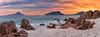 Nelson Bay Panorama (FPL_2015) Tags: portstephens nelsonbay nsw australia landscape sunrise rocks beach water seascape canon6d canon1635f4lis polarizer gnd09