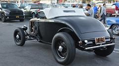 1933 Ford High Boy Roadster - contemporary retro (Pat Durkin OC) Tags: 1933ford highboy roadster black wirewheels retro semiretro speedster