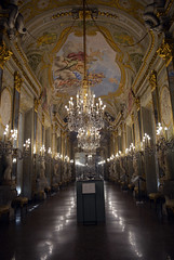 Palazzo Real grand dining room 1 (PhillMono) Tags: nikon dslr d7100 palazzo real grand dining room royal palace reflection art architecture renaissance chandelier museum history heritage genoa italy travel tourist
