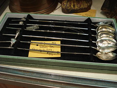 "JAPANESE 950 SILVER ICE TEA STRAWS IN BOX. • <a style=""font-size:0.8em;"" href=""http://www.flickr.com/photos/51721355@N02/30201870301/"" target=""_blank"">View on Flickr</a>"