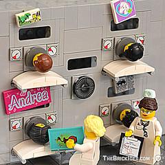 Iron Lung (Gadget Bricks) Tags: polio children ironlung hospital lego brick bricks moc nurse respirator vaccine