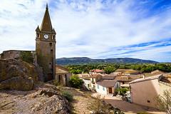 Le chteau de Capendu-001 (bonacherajf) Tags: aude capendu chateau ruine clocher