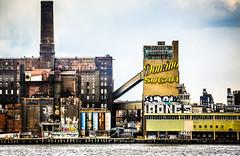 Domino Sugar (Thomas Hawk) Tags: dominosugarplant dominosugarrefinery manhattan newyork newyorkcity unitedstates unitedstatesofamerica abandoned architecture graffiti neon fav10 fav25 fav50 fav100