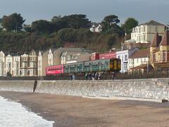 153325 & 150233 Dawlish (3) (Marky7890) Tags: 150233 class150 sprinter gwr 153325 class153 supersprinter 2c67 dawlish railway station devon train