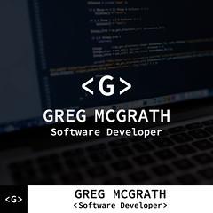 Greg McGrath-Software Developer