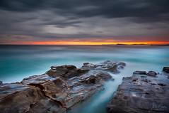 CCSB161001 (Mathew Courtney) Tags: centralcoast clouds nsw ocean rocks water