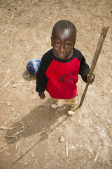 My Staff (Michael Rozycki) Tags: poverty africa boy shadow red game look ball toy child balls staff stare second stick tall uganda kampala
