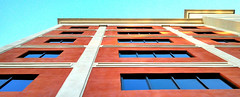 Orange and Blue Look Good Together Too (DigitalLUX) Tags: blue windows sky orange beautiful architecture buildings design arquitectura colorful downtown florida perspective cellphone bluesky urbano perspectiva walls coralgables urbanlandscape southflorida artisticphotography paisajeurbano architecturaldetails urbanscene aplusphoto
