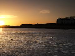 Sun setting on the Solway Coast. Photo taken from Newbie near Annan (penlea1954) Tags: sea sky sun silhouette coast scotland d g silhouettes estuary newbie rise setting annan natures solway dumfries galloway dumfriesshire
