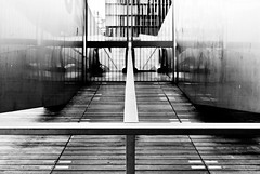 BNF (WillVision Photography) Tags: blackandwhite paris france architecture canon eos bnf bercy bibliothquenationaledefrance lightroom sigma2470mmf28 400d willvisionphotography