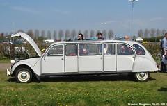 Citroën 2CV limo 1987 (Wouter Bregman) Tags: auto old france classic netherlands car mobile vintage french automobile 1987 nederland citroën voiture limo 2cv paysbas eend geit ancienne vijfhuizen 2pk citroën2cv française deuche citromobile citro