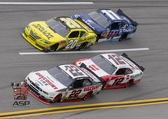 NASCAR 2013:  Nationwide Series Aarons 312 MAY 04 (Walter G. Arce) Tags: usa cars sports al automobile unitedstatesofamerica racing event nascar lincoln toyota motorsports sadler gibbs vickers jgr hornish stockcars logano discounttire aarons312 talladegasuperspeedway zsports znascar nationwideseries onemainfinancial d1305tsss dollargenreal