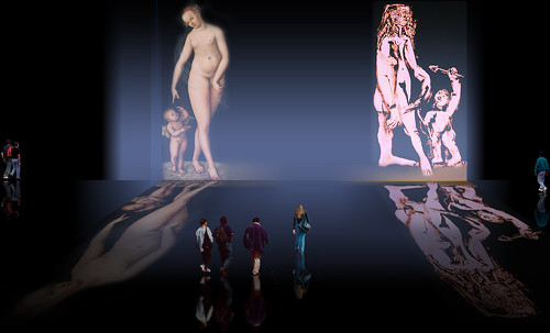 """Venus y Cupido, versiones de los Cranach, el Viejo (1529) maestro fundador de la escuela flamenca, interpretaciones y paráfrasis de Pablo Picasso (1957). • <a style=""""font-size:0.8em;"""" href=""""http://www.flickr.com/photos/30735181@N00/8746771001/"""" target=""""_blank"""">View on Flickr</a>"""