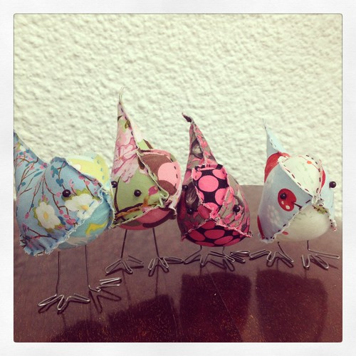 New Fabric Birds