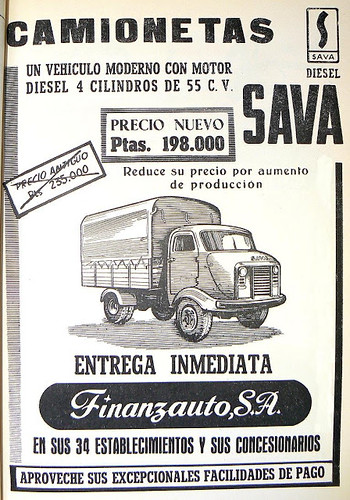 "Sava Camioneta 1961 • <a style=""font-size:0.8em;"" href=""http://www.flickr.com/photos/95583826@N05/8747475648/"" target=""_blank"">View on Flickr</a>"