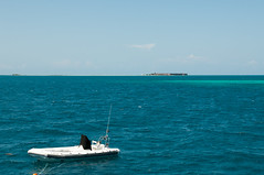 Fort Jefferson and Dinghy (2013) Dry Tortugas National Park, Florida (jpaton1963) Tags: nationalpark fortjefferson drytortugas parquenacional gardenkey geocity exif:iso_speed=200 exif:focal_length=40mm camera:make=nikoncorporation camera:model=nikond300 exif:make=nikoncorporation geostate geocountrys exif:lens=240700mmf28 exif:model=nikond300 exif:aperture=80 geo:lat=24648058333333 geo:lon=82848355