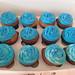 70th Birthday Cupcakes