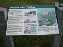 Fort McClary- Kittery Point ME (2) (kevystew) Tags: statepark signs sign fort map maps maine kitterypoint yorkcounty fortmcclary nationalregister nationalregisterofhistoricplaces portsmouthharbor
