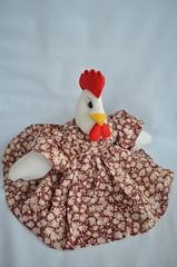 Galinha de tecido (Mimos & Presentes) Tags: galinha presente tecido