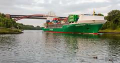 levensauer hochbruecke-04 (El-Moe) Tags: bridge water ship kanal brcke schiff kiel bruecke kielcanal levensauerhochbrcke levensauerhochbruecke nikond5100 wassernordostseekanal