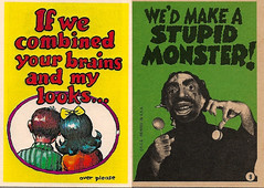 Monster Greeting Cards No. 9 (Topps 1965) (Donald Deveau) Tags: monster greetingcard robertcrumb topps tradingcards