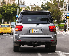 JORDAN CD 78385 (rOOmUSh) Tags: auto car grey cd jordan toyota sequoia diplomatic inisrael