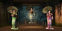 Welcome O-Tsukimi Final Act (BlueLotusOkiya) Tags: secondlife geisha etsuko bluelotusokiya
