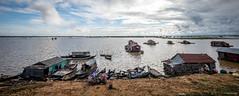 Doorway to Tonle Sap (Leong Seng Chee) Tags: travel portrait people photography khmer culture angkor combodia theweekendcameraman