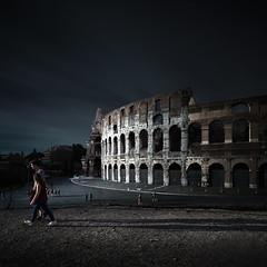 Colosseum Rome 2014 (Joel Tjintjelaar) Tags: italy rome roma architecture colosseum tse fineartphotography longexposurephotography tjintjelaar